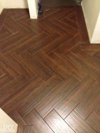 DIY Show Off | Herringbone tile pattern, Herringbone tile ...