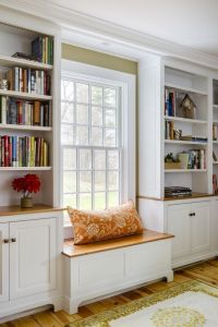 Groton, MA renovation with built in window seat and ...