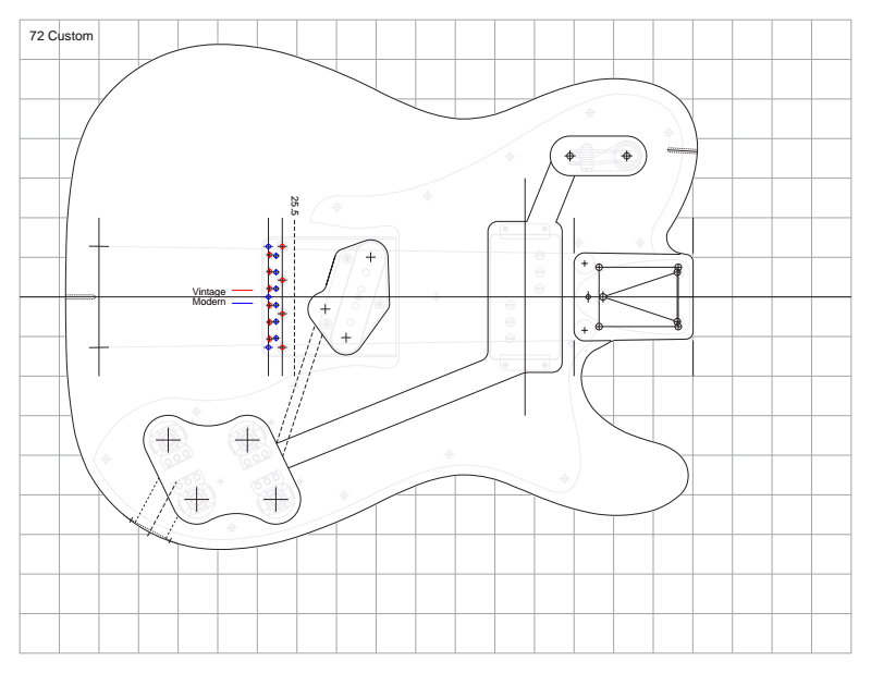 Guitar templates; https://sites.google.com/site