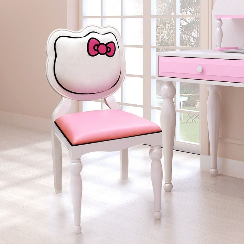 Hello Kitty Desk Chair Girls Pink Furniture Character