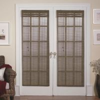 Magnetic Roman Shades for French Doors | Window Shades ...