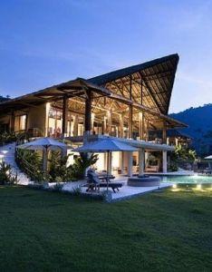 The  villa mayana located in costa rica designed by enrique barascout also rh pinterest