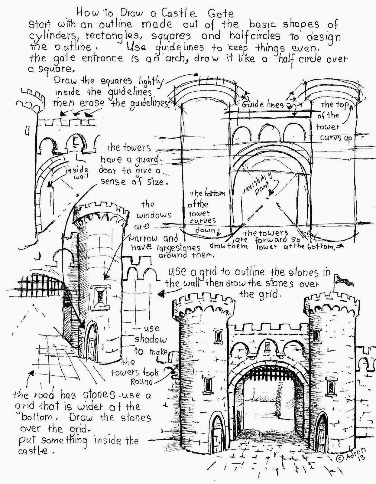 Ing A Castle Worksheet