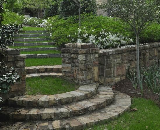 "Rustic Stone Steps And Grass Landings"" ""steps In Ilovers"