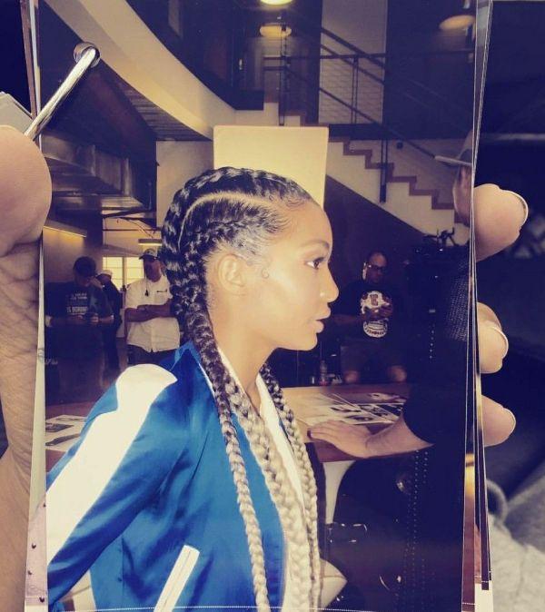 Cornrows Yara Shahidi Hair.long Short