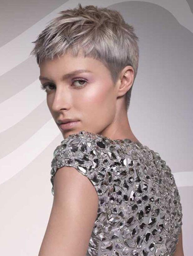 Kurzhaarschnitte Für Graue Haare 10 Frisuren Pinterest Graue