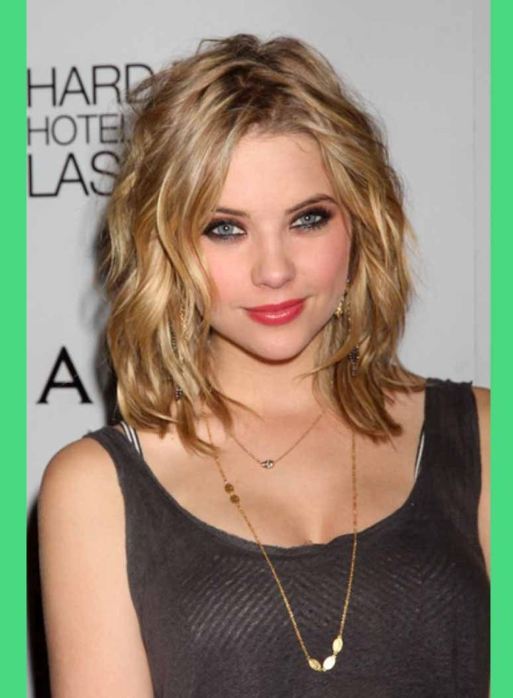 Shoulder Length Haircuts For Thin Hair And Round Face Medium