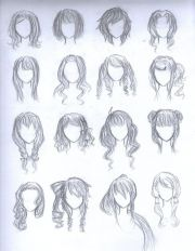 chibi girl hairstyles - google