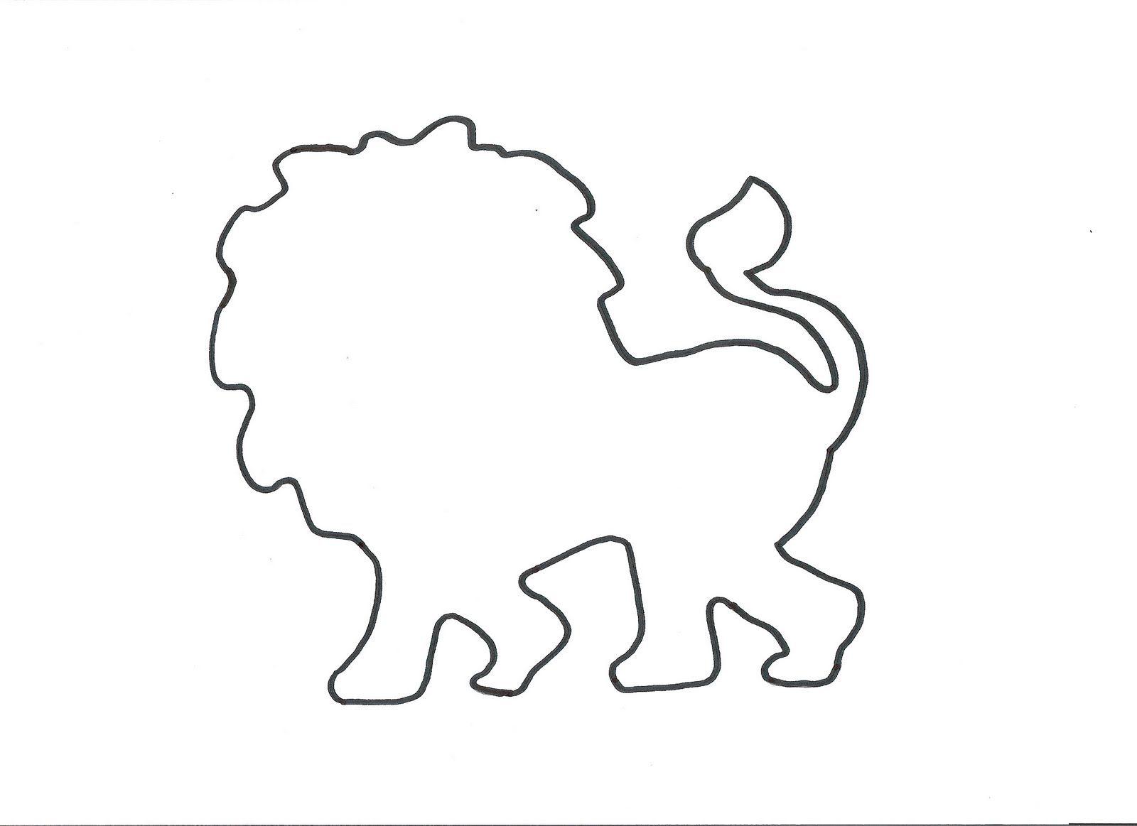 Lion Template