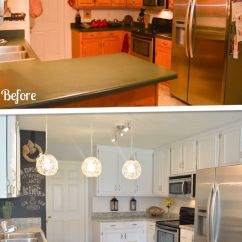 Inexpensive Kitchen Cabinet Makeovers Outdoor Cabinets Stainless Steel Makeover On A Budget Remodel Your And