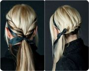 7 easy and chic ponytail hairstyle