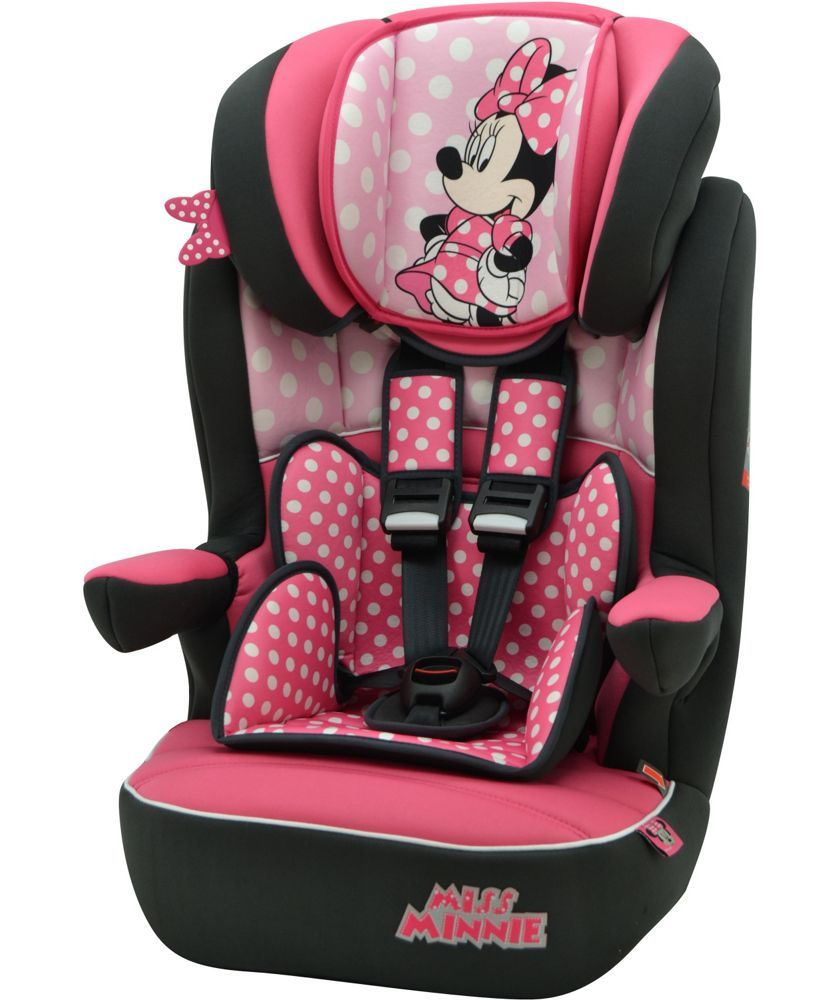 Buy Disney Minnie Mouse Group 123 Imax High Back Booster