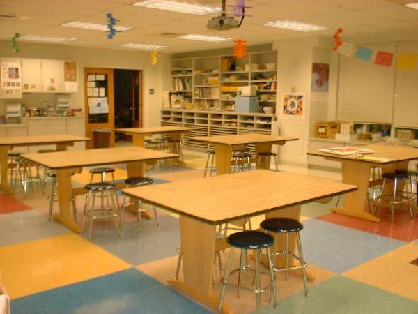 High School Art Classroom