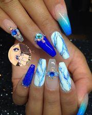blue marble - lapis lazuli cool