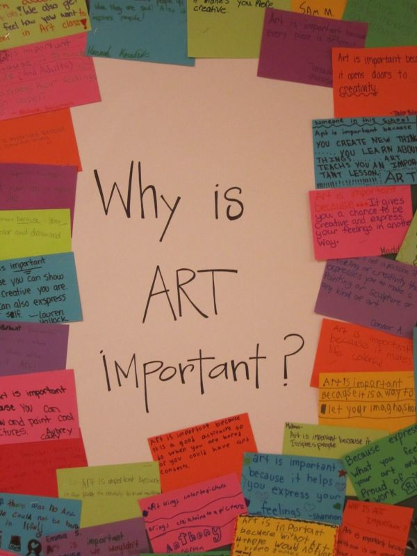 Why Is Art Important in School