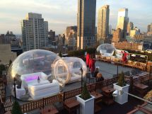 ' Bar With Rooftop Igloos Winter