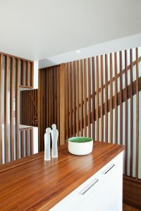 floor to ceiling stair guard rails