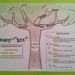 Tree Diagram Worksheets Grade 4 Air Conditioning Thermostat Wiring Quadrilaterals Geome Quottree Quot Math School And Anchor Charts