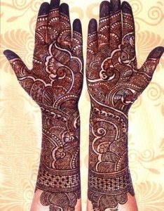 Latest beautiful unique arabic bridal dulhan mehndi henna designs style for full hands front and back pics wallpapers free download indian also noorjahan mehendi artist info  review watches rh in pinterest