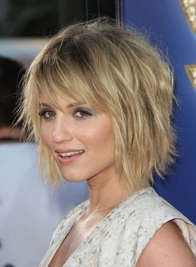 Abgehackt Kurze Frisur Für Feines Haar Frisuren Pinterest