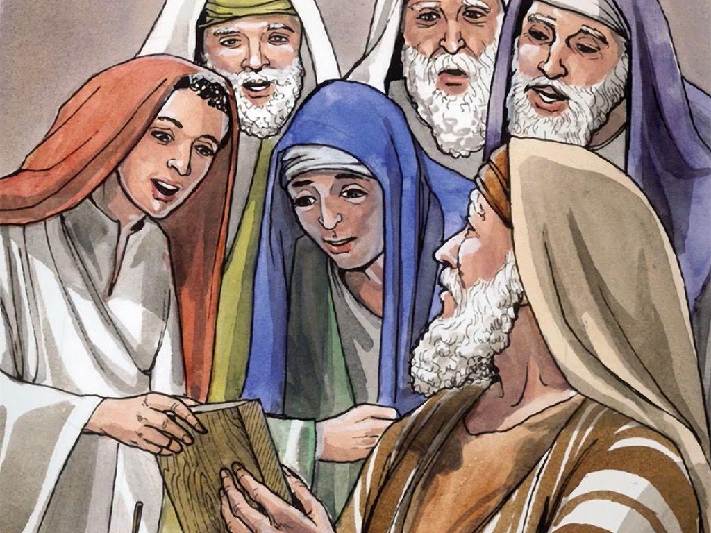 Free Visuals Birth Of John The Baptist Zechariah And