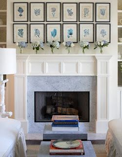 Flower art above fireplace also picture frames hanging photos rh pinterest