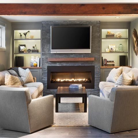 Built in electric fireplace design ideas pictures remodel and decor also rh pinterest