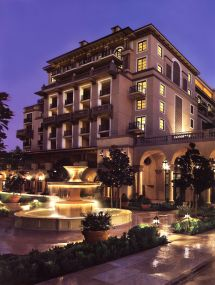 Montage Hotel Beverly Hills - Limestone Fountains