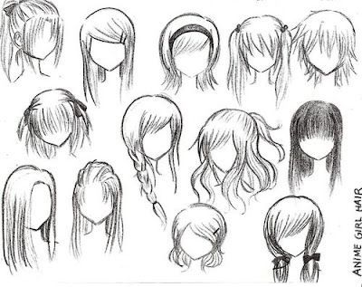 How To Draw Chibi Hair Google Search Drawing Dolls Pinterest