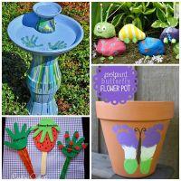12 Super Cute Garden Crafts For Kids | Kids garden crafts ...
