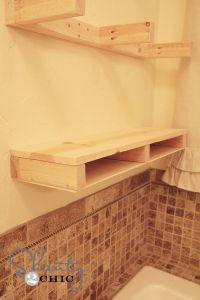 Easy DIY Floating Shelves   Diy wood shelves, Shelf ...