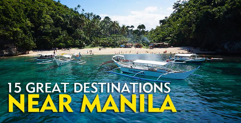 Beautiful Beaches Near Manila Philippines