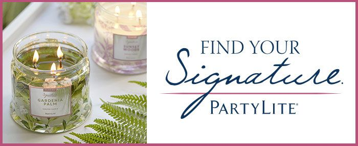 Find Your Signature Scent Today With Partylite