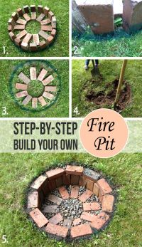 27 Awesome DIY Firepit Ideas for Your Yard | Bricks ...