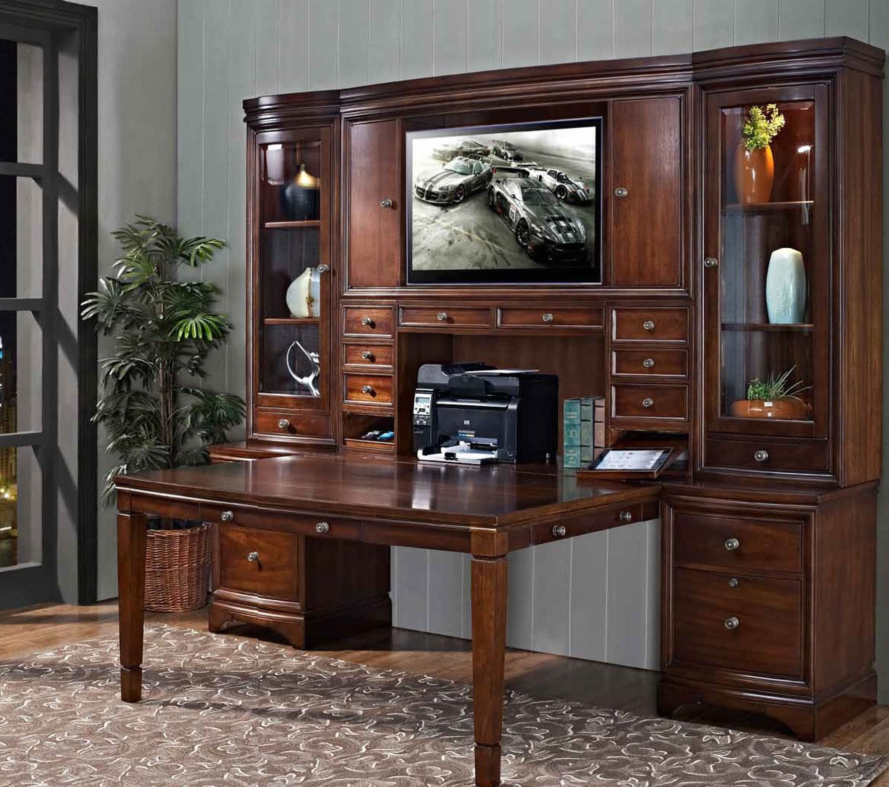 Madison Collection Partners Desk Unit Home Office