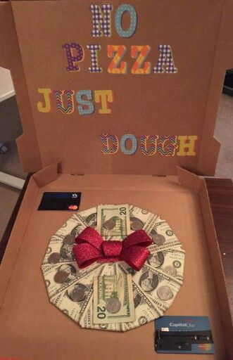 No Pizza Just Dough Gift Ideas Pinterest