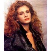 julia roberts 90s curly hair ad