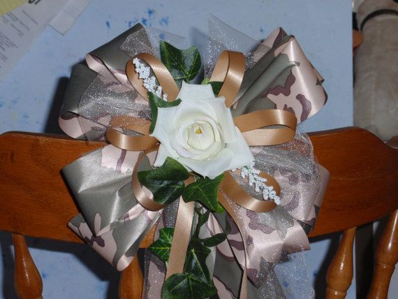 Camo Wedding Reception Ideas