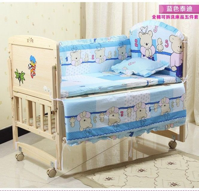 10pcs Baby Crib Sheets100 Cotton Boy Bedding Pers Cot Set Per
