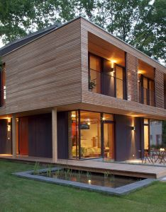 Beautifully designed passive house vallentin architecture germany also rh pinterest