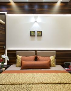 bhk apartment interiors at yari road modern contemporary bedroom design also rh in pinterest