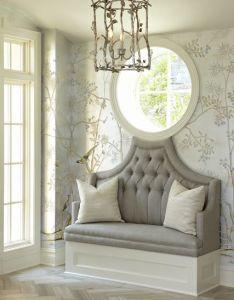 Charming space decor ideasdecorating also the grey home pinterest foyers herringbone rh