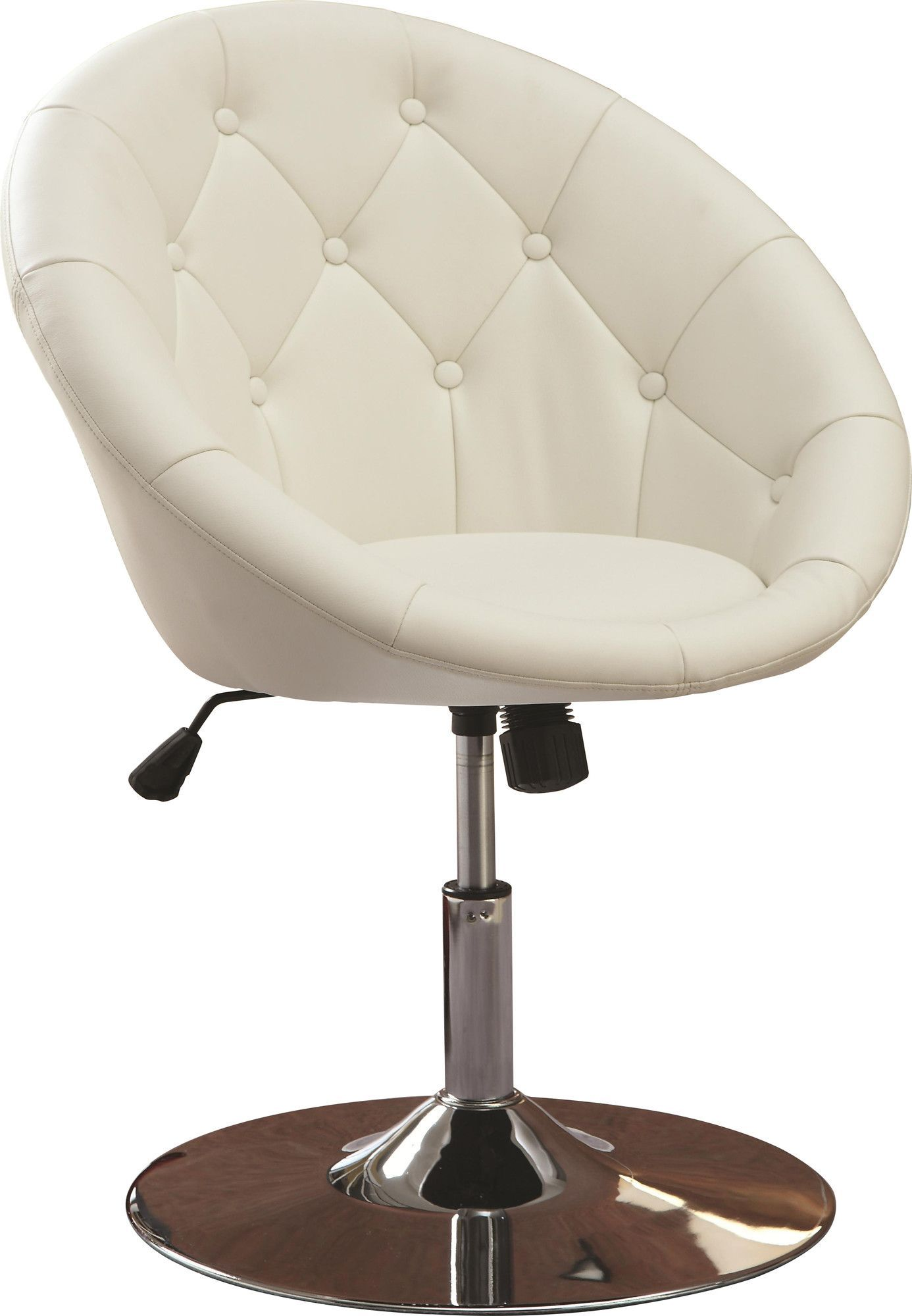 Contemporary Swivel Chairs Noas Contemporary Tufted Back Tilt Swivel Barrel Chair