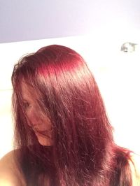 4v dark plum brown ZOTOS age beautiful hair color over ...