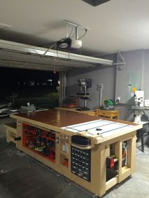 Custom Garage Workbench