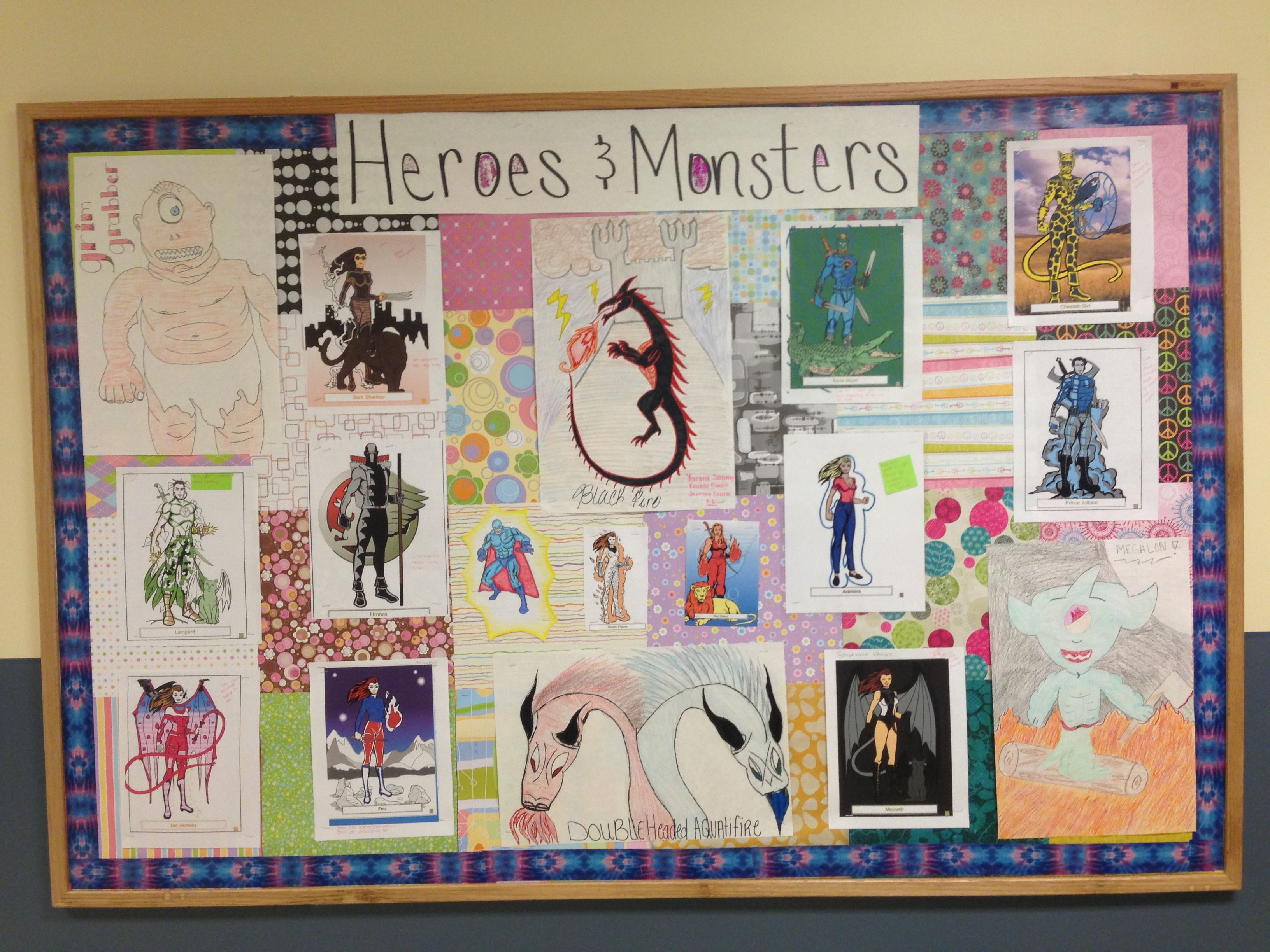 Beowulf Heroes And Monsters Project Udents Had To