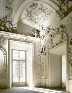 Second empire rococo revival molding style on top of the door ways and cielings in conners de casas design office bedrooms also pin by angeles  espais buits empty spaces pinterest rh