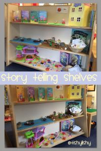 Story telling shelves. Summer term. | Classroom Centers ...