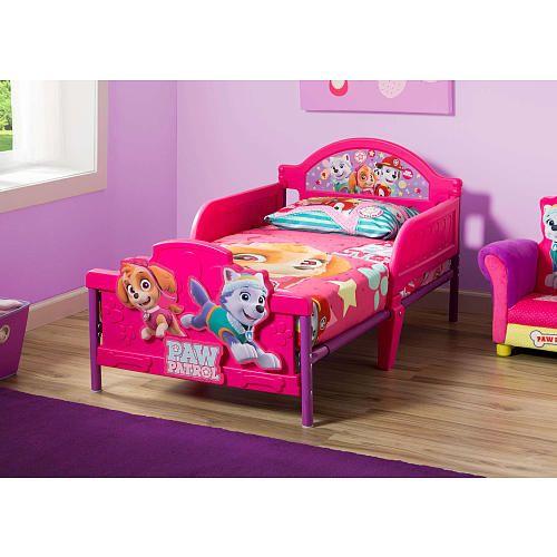 paw patrol bedroom furniture set girls toddler bed room toy
