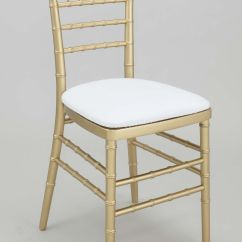 White Chairs For Wedding Stool Chair Second Hand Gold Chiavari With Cushion Eh 43 Jp